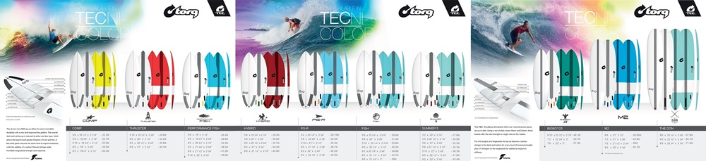 Torq TEC Surfboards