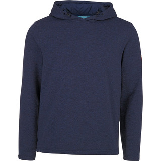 CHIEMSEE Herren Fleece Kapuzenpullover BARCLAY, dress blue mela