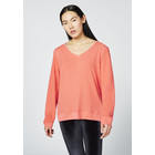 CHIEMSEE Damen T-Shirt Longsleeve BUNDORAN, hot coral