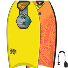 FLOOD Bodyboard Streak 42 Yellow Orange Maori